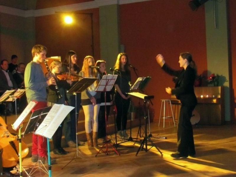 Weihnachtskonzert 2013: Songgruppe